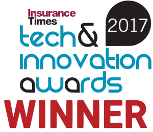 Insurance Times Tech & Innovation awards - WINNER - Ninety